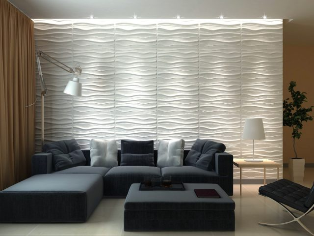 3D Decorative Panel - LAKE Design