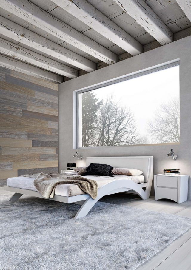 Wood Panels - Grey Mix Design