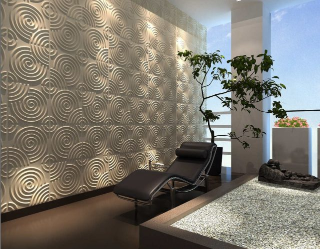 3D Decorative Panel - RIPPLE Design