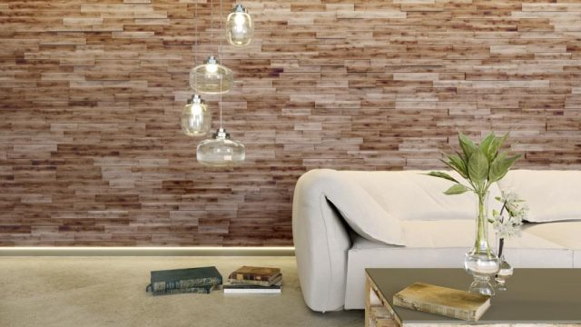 3D Wood Panels - Natural Wood