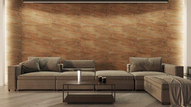 Flexible Stone Panel - Cooper Design