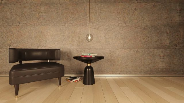 Flexible Stone Panel - Zeela Green Design