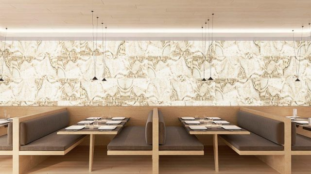 Flexible Stone Panel - Indian Autumn TRANSLUCENT Design